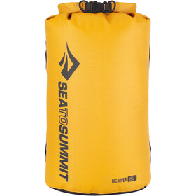 Sea to Summit Big River Sac de compression étanche L, yellow